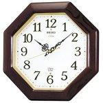 セイコークロック チャイム&ストライク 電波壁掛け時計 RX210B
