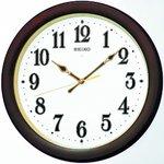 SEIKO CLOCK(セイコークロック) 自動点灯クロック 電波壁掛け時計KX338B