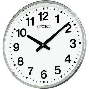 セイコークロック 屋外・防雨用 電波壁掛け時計KH411S - 拡大画像