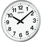 セイコークロック 屋外・防雨用 電波壁掛け時計KH411S