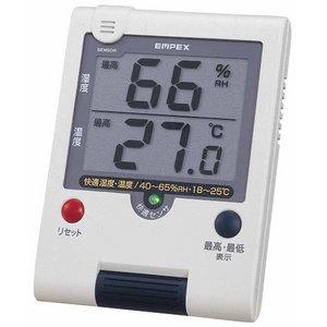 エンペックス デカデジUD快適モニタ〈デジタル湿度・温度計〉 TD-8181 - 拡大画像