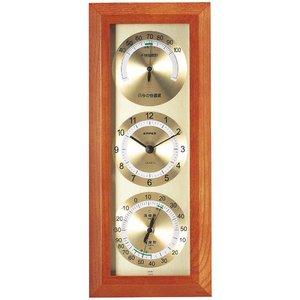 エンペックス 快適モニタ1台4役不快指数・時計・温度・湿度計 TM-712 - 拡大画像