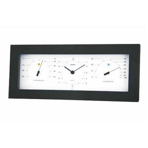 エンペックス MONO温度計・時計・湿度計 MN-4841 - 拡大画像