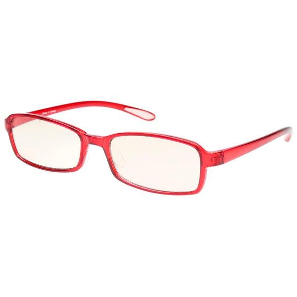 スイートアイ メラニンレンズ PC眼鏡 SE01 Ruby 赤f00