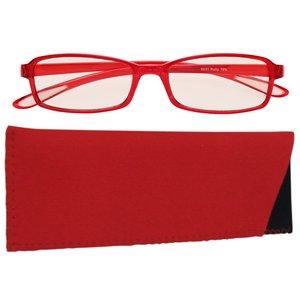 スイートアイ メラニンレンズ PC眼鏡 SE01 Ruby 赤 h03