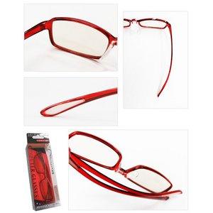 スイートアイ メラニンレンズ PC眼鏡 SE01 Ruby 赤 f05