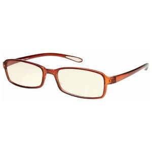 スイートアイ メラニンレンズ PC眼鏡 SE01 Mocha モカ ブラウン 茶色 h01