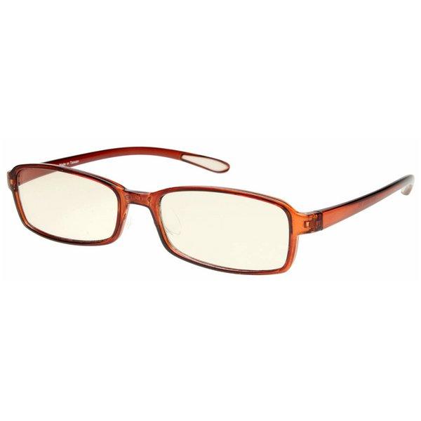 スイートアイ メラニンレンズ PC眼鏡 SE01 Mocha モカ ブラウン 茶色f00