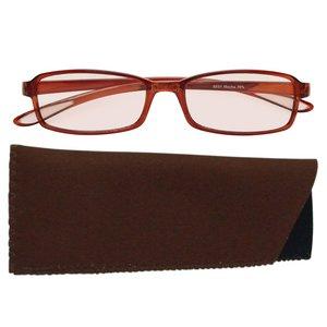 スイートアイ メラニンレンズ PC眼鏡 SE01 Mocha モカ ブラウン 茶色 h03