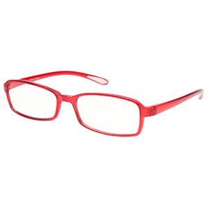 スイートアイ PC眼鏡 クリアレンズ AR-SE01 RUBY ルビー 赤 h02