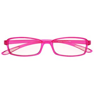 スイートアイ PC眼鏡 クリアレンズ AR-SE01 RASP ラズベリー ピンク