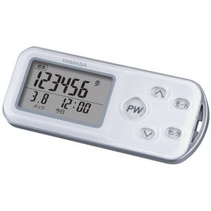 YAMASA(山佐時計計器株式会社) ポケット万歩 パワーウォーカーEX EX-700 ホワイト - 拡大画像