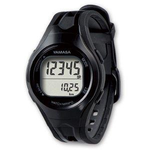 YAMASA(山佐時計計器)  ウォッチ万歩計 TM-400 ブラック/ブラック - 拡大画像