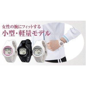 YAMASA(山佐時計計器)  ウォッチ万歩計 TM-400 ブラック/ブラック画像2