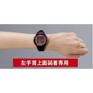 YAMASA(山佐時計計器株式会社) 電波時計内蔵ウォッチ万歩計 TM-500ブラック/シルバー h03