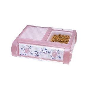YAMASA(山佐時計計器) 自動給餌器 わんにゃんぐるめ CD-400 クリアピンク - 拡大画像