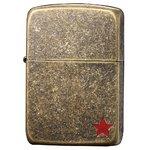 ジッポー(ZIPPO) RED STAR 41-2STR ゴールド