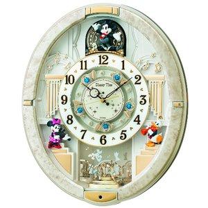 SEIKO CLOCK(セイコークロック) ミッキー&フレンズ 電波からくり掛け時計 FW574W - 拡大画像