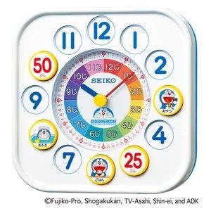SEIKO CLOCK(セイコークロック) ドラえもん 知育時計 CQ319W - 拡大画像