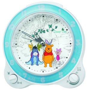 SEIKO CLOCK(セイコークロック) ディズニーキャラクター くまのプーさん目覚まし時計 FD462W