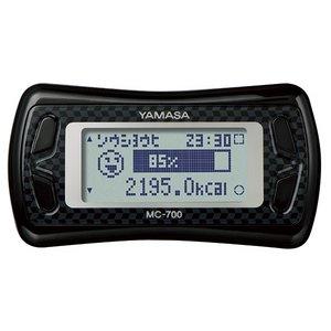YAMASA(山佐時計計器株式会社) 3Dセンサー・気圧センサー搭載 活動量計 MC-700 ブラック - 拡大画像