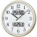 SEIKO CLOCK(セイコークロック) 電波掛時計 自動点灯 KX384S