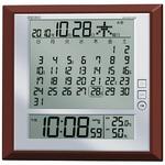 SEIKO CLOCK(セイコークロック) 電波デジタル時計 マンスリーカレンダー付き SQ421B
