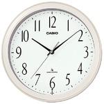 CASIO(カシオ) インテリアクロック アナログスタンダード IQ-1060J-7JF パールホワイト