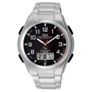 CITIZEN WATCH(シチズン時計) Q&Q ソーラー電源機能搭載 世界5局対応コンビネーション電波時計 MD02-205 h01