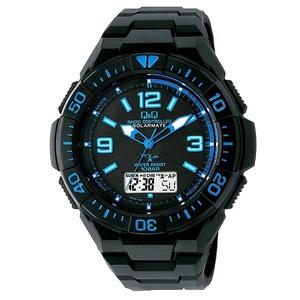 CITIZEN WATCH(シチズン時計) Q&Q ソーラー電源機能搭載 デジタル電波時計 MD06-335 h01