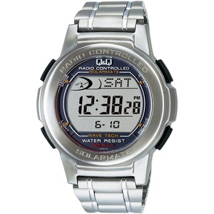 CITIZEN WATCH(シチズン時計) Q&Q ソーラー電源機能搭載 デジタル電波時計 MHS5-200 h01