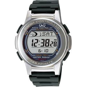 CITIZEN WATCH(シチズン時計) Q&Q ソーラー電源機能搭載 デジタル電波時計 MHS5-300 h01