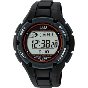 CITIZEN WATCH(シチズン時計) Q&Q ソーラー電源機能搭載 デジタル電波時計 MHS6-300 h01