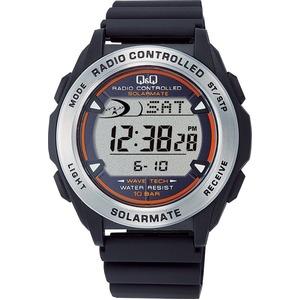 CITIZEN WATCH(シチズン時計) Q&Q ソーラー電源機能搭載 デジタル電波時計 MHS7-300 - 拡大画像