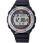 CITIZEN WATCH(シチズン時計) Q&Q ソーラー電源機能搭載 デジタル電波時計 MHS7-300