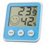 EMPEX(エンペックス) デジタルmidi 温度・湿度計 TD-8316 アクアブルー