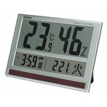 EMPEX(エンペックス) ジャンボソーラー温湿度計 TD-8170
