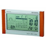 ADESSO(アデッソ) 天気予報付カレンダー電波時計 TSB-376