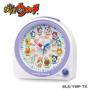 SEIKO CLOCK(セイコークロック) 妖怪ウォッチ知育時計 CQ145W - 拡大画像