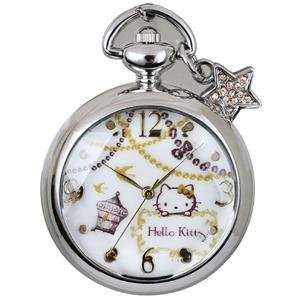 CREPHA(クレファー) メイドインジャパンハローキティ懐中時計 HKY-1442-SVA h01