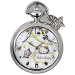 CREPHA(クレファー) メイドインジャパンハローキティ懐中時計 HKY-1442-SVA