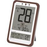 ADESSO(アデッソ) デジタル日めくり電波時計 C-8414A(ACアダプタ付属)