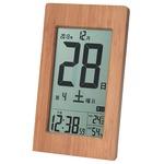 【訳あり・在庫処分】ADESSO(アデッソ) 竹の日めくり電波時計 T-8656