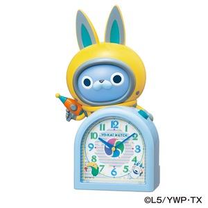 SEIKO CLOCK(セイコークロック) キャラクタークロック 妖怪ウォッチ/USAピョン 目覚まし時計 JF380A - 拡大画像