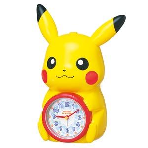 SEIKO CLOCK(セイコークロック) キャラクタークロック ポケットモンスター/ピカチュウ 目覚まし時計 JF379A - 拡大画像