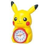 SEIKO CLOCK(セイコークロック) キャラクタークロック ポケットモンスター/ピカチュウ 目覚まし時計 JF379A