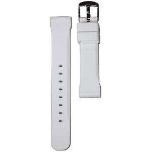 Crepha(クレファー) シリコン時計バンド Si-5 18mm ホワイト h01
