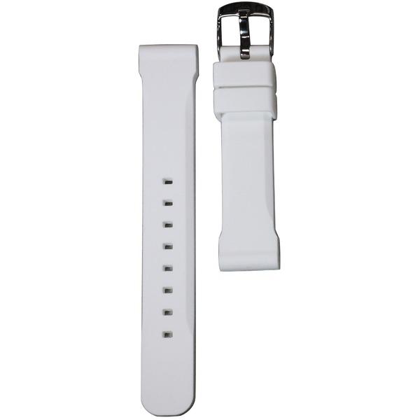 Crepha(クレファー) シリコン時計バンド Si-5 18mm ホワイトf00
