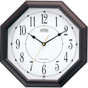 MAG(マグ) アナログ掛け時計 ブラウン W-287BR-Z/オクターゴ