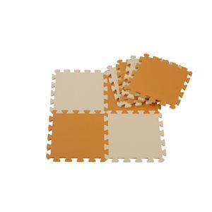 JOINT MAT SERIES(ジョイントマットシリーズ) カラーマット8枚組 マンゴーの詳細を見る